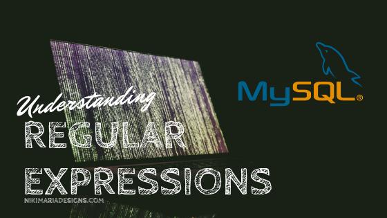 MySQL Queries using Regular Expressions
